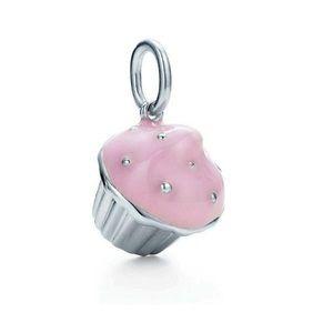 Tiffany Pink Cupcake Charm